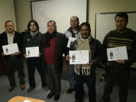 Expositor y participantes