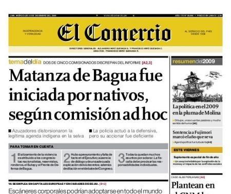 Matanza de policias en Bagua