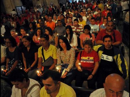 Misa en la Catedral de la Habana