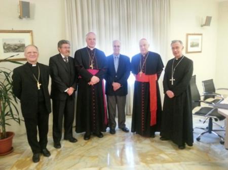 Marcial Rubio en El Vaticano