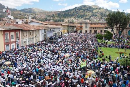 Marcha por la paz y el desarrollo