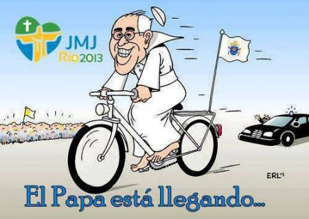 Papa Francisco en Brasil