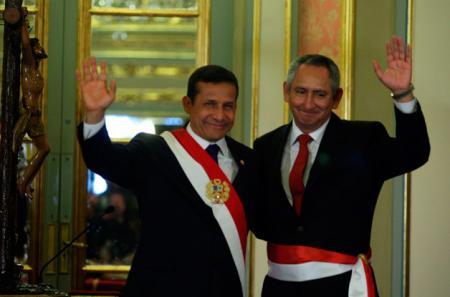 Primer Ministro Rene Cornejo
