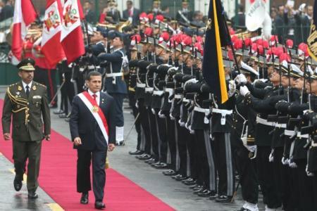 Desfile civico militar