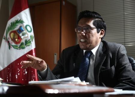 Congresista Vicente Zeballos