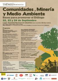 Seminario Comunidades Mineria Ambiente