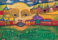 Irinaland sobre los Balcanes. Hundertwasser
