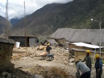 Destrucción del Templo de Marcapata
