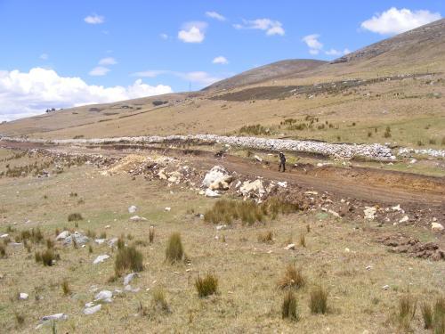 Nueva carretera sobre el Qhapaq Ñan