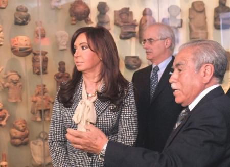 Ramiro Matos - Cristina Fernandez - F. R.: Grecia Matos