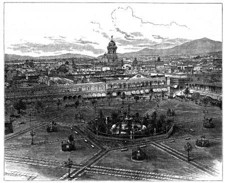 PlazaMayor-Lima-Peru-1877
