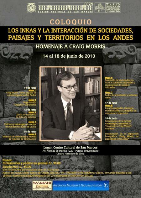 Poster Morris Homenaje 2010