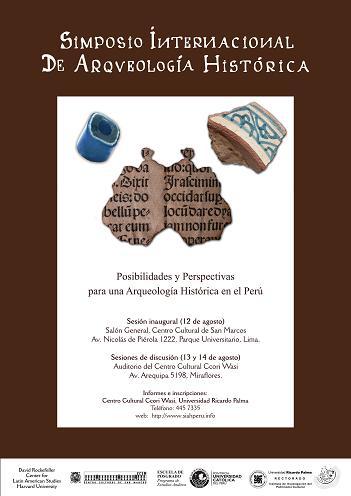 Simposio Internacional de Arqueologia Historica - Jose Luis Pino Matos