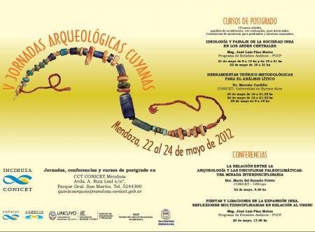 V Jornadas Arqueológicas Cuyanas