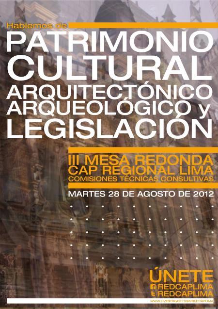 Mesa Patrimonio Arquitectonico