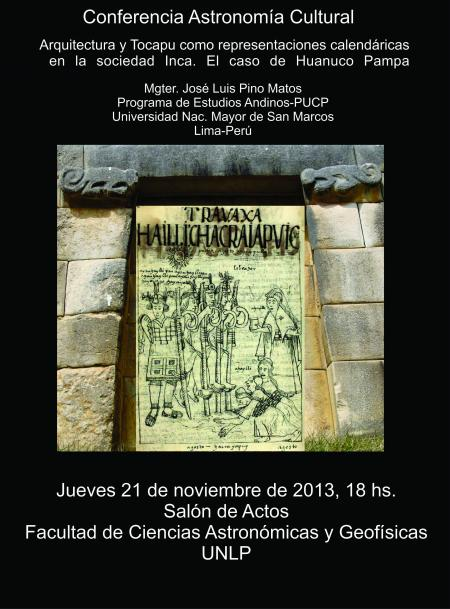 Arquitectura Inca y Tocapu como reprsentaciones calendaricas en el Tawantinsuyu