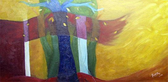 Bosque: artista Henry Rodriguez
