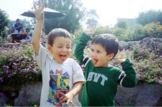 Paulo y Gonzalo de 3 años (2006