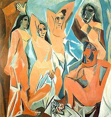Pablo Picasso - Las señoritas de Avignon