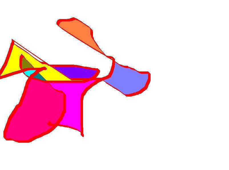 Perro trayendo una flor a una chica - Paulo 4 años