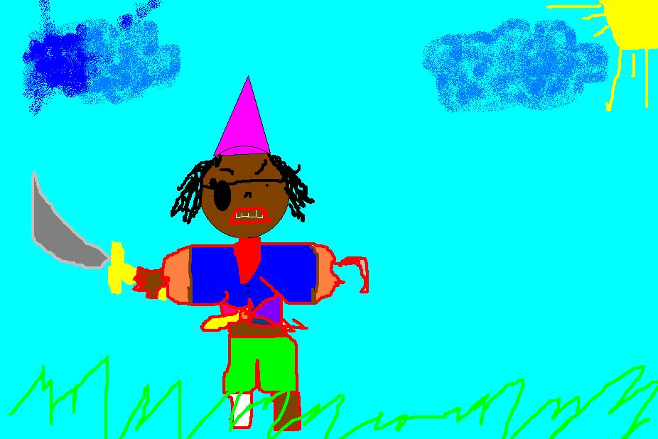 Dibujo Paulo - 4 años