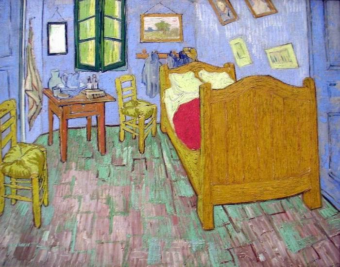 La habitación - Van Gogh