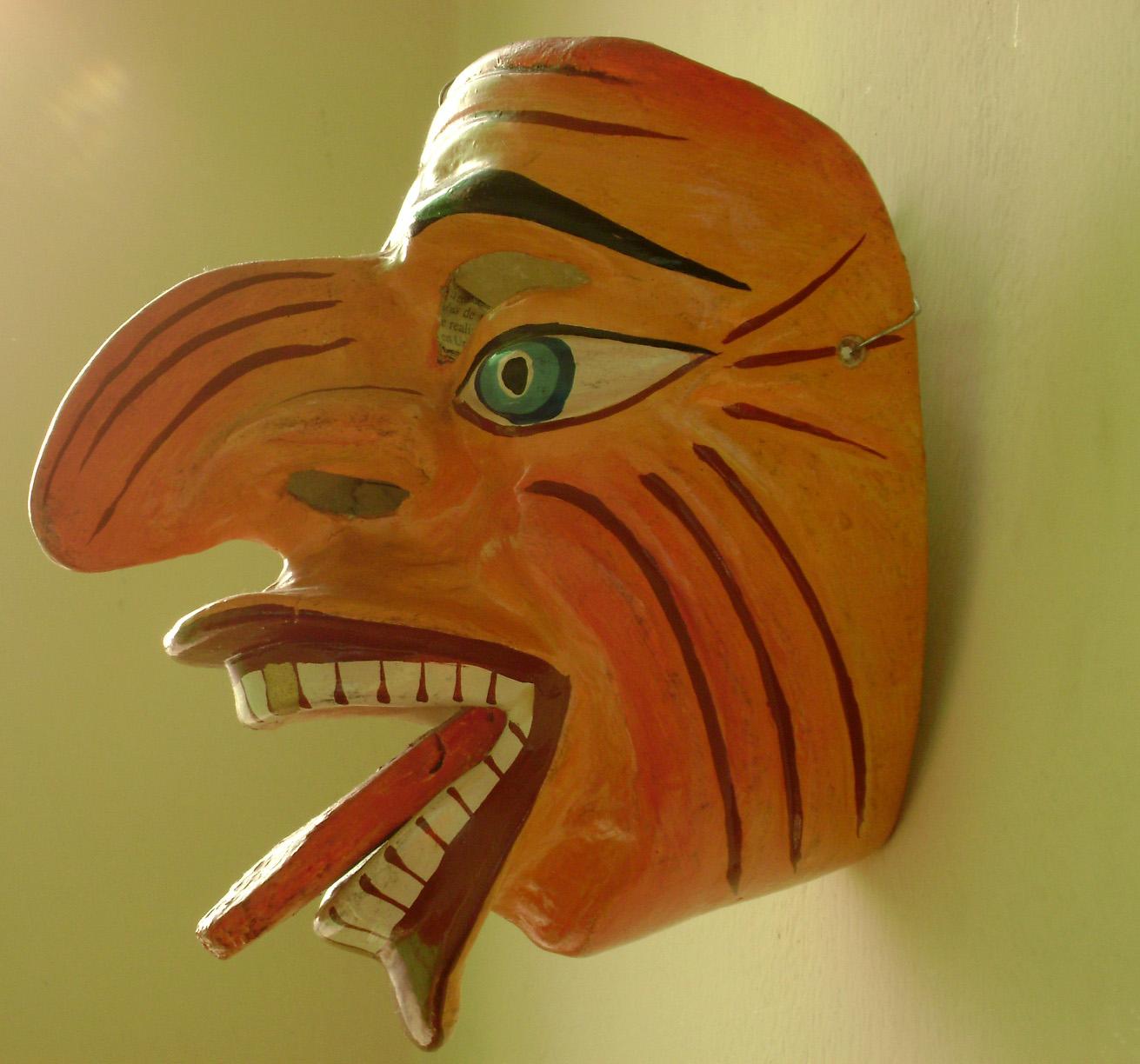 Máscara de Paucartambo