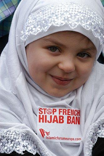Niña musulmana