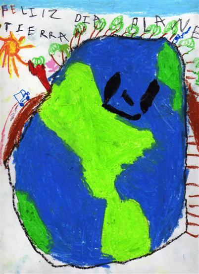 La tierra - Paulo 5 años