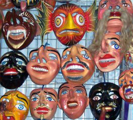 Máscaras cuzqueñas