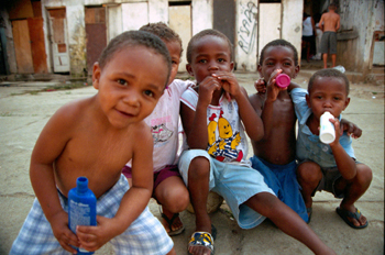 niños de favela