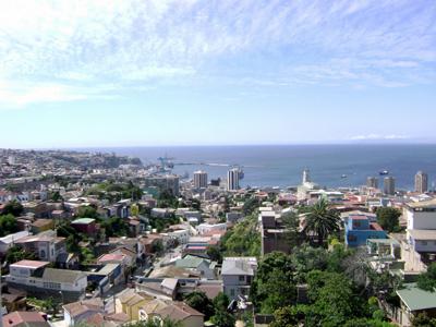 Valparaíso desde la ventana de Neruda