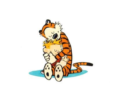 calvin y tigre