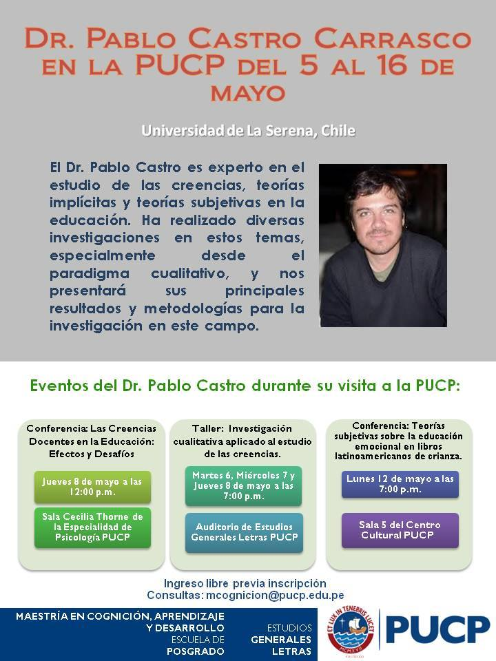 Evento Pablo Castro