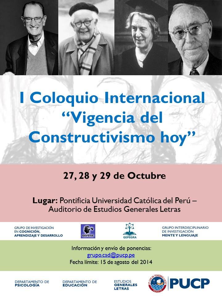 Coloquio Octubre 2014