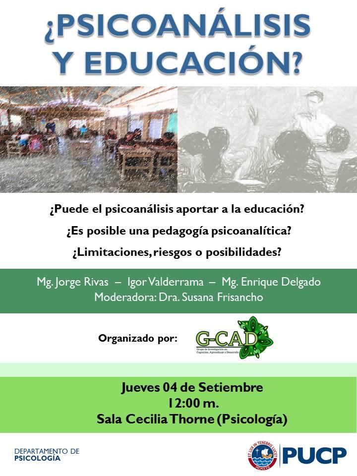 Psicoanalisis y educacion