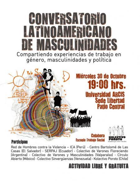 Chile: Conversatorio sobre masculinidades Latinoamericanas