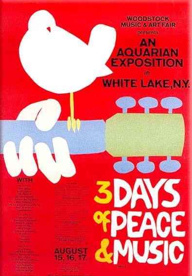 Woodstock Poster Imagenes Google