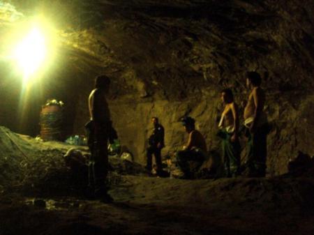 Mineros Chilenos - Foto AFP