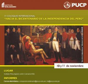 Coloquio Hacia el Bicentenario