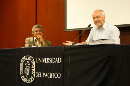Rory Miller y Aldo Panfichi