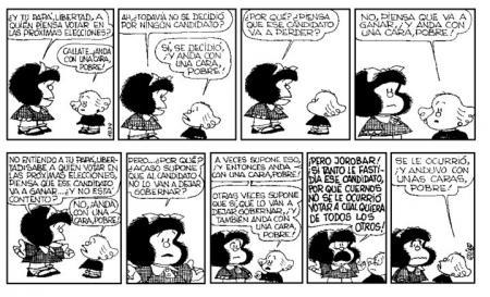 Mafalda- Libertad- las Eleccionesg