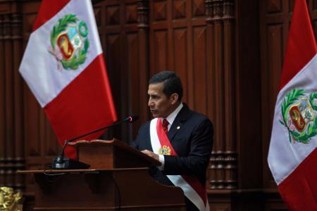 Ollanta Humala 2012
