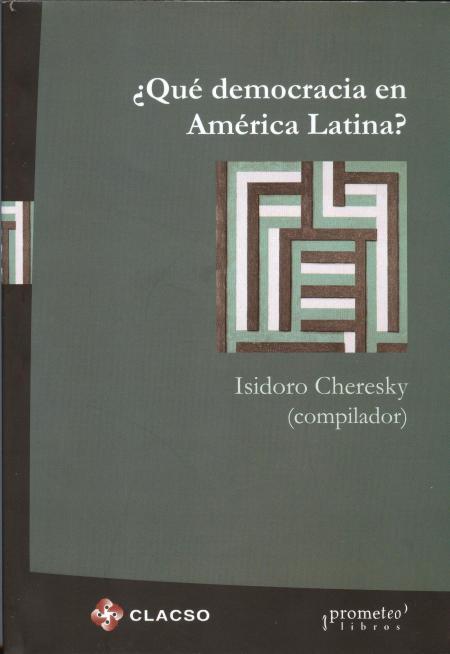 ¿Qué es democracia en América Latina?