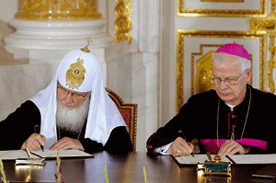 El viaje del patriarca ortodoxo Kirill a Varsovia rompe decadas de enfrentamiento