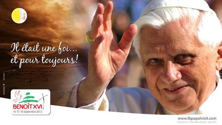 Papa Benedicto XVI visita Líbano