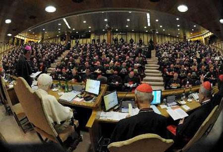 Intervenciones Sínodo Obispos