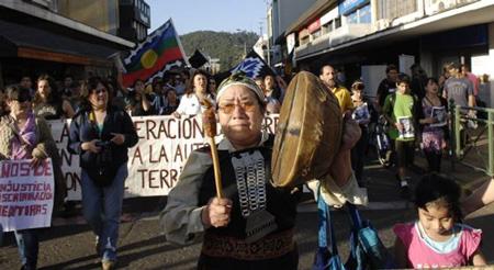 Iglesia Chile Conflicto Mapuche