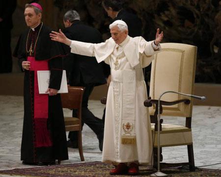 Benedicto XVI - Audiencia 13 febrero 2013