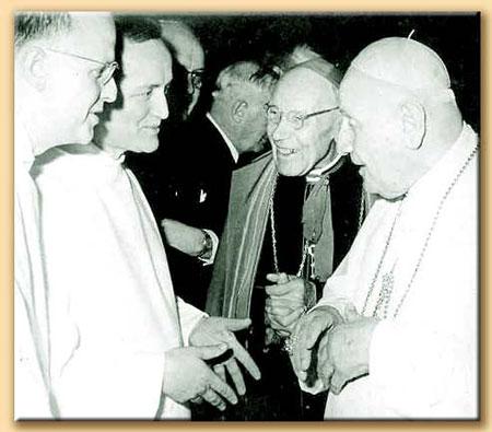 Hno. Roger y el Papa Juan XXIII